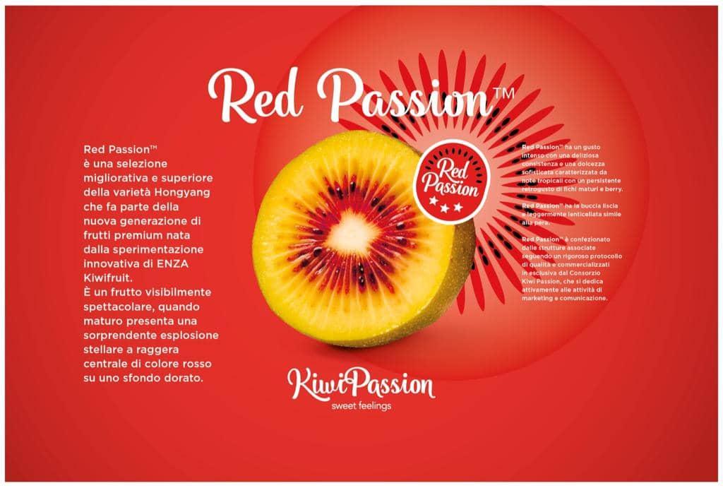 Kiwi red passion