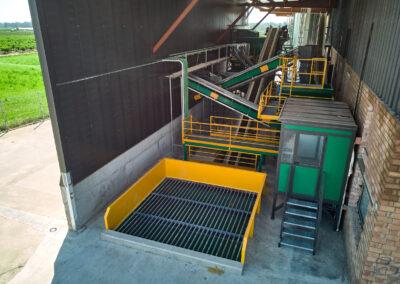 Centro receptor de almendra de Vivers Viladegut